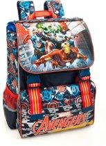 Avengers Rugzak - 40 cm hoog - Rood/Blauw