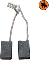 Koolborstelset voor AEG frees/zaag WS1800 - 6,3x12,5x20mm