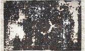 HSM Collection Vloerkleed - katoen - 180x120 cm - naturel/beige/bruin