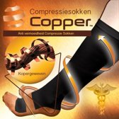 DisQounts Compressiekousen Copper - L/XL