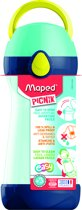 DRINKFLES 430 ml - MAPED Picnik CONCEPT - blauwgroen