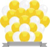 Ballonnen Geel / Wit (30ST)