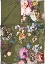 Essenza Fleur - Plaid - 135x170 cm - Moss
