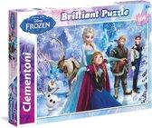 Frozen Puzzel Brilliant - 104 stukjes