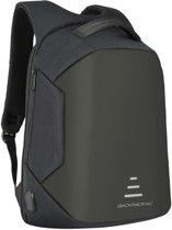 Rugzak - anti theft - anti-diefstal - 32 liter - geschikt voor laptop - zwart - schooltas