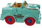 Jonotoys Speelgoedauto Baby 9 Cm Limegroen