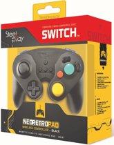 Steelplay Wireless Neo Retro Controller Black - Switch