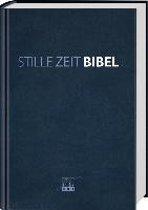 Stille-Zeit-Bibel - Kunstleder blau