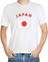 Japan t-shirt met vlag 2xl