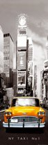 Reinders Poster New York - yellow cab - Poster - 53 × 158 cm - no. 18135