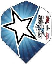 Bull's Powerflite Max Hopp Blue Star