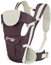 Jadobo - Baby Draagzak - Babydraagzak - Babydrager - Draagbuidel - Baby Carrier - 4-in-1 - Beige