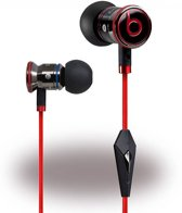 Beats by Dr. Dre Originele Monster iBeats in ear Headset - Zwart / Rood