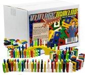 400-Delige Nostalgische Domino Express Bouwset