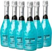 Cloudem - Alcoholvrije mousserende Appelcider - Blue - Blauwe bessen - 6 flessen