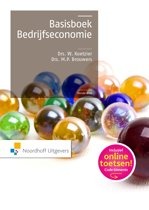 Basisboek bedrijfseconomie 10e druk incl. toegang tot Prepzone
