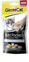 GimCat Nutri Pockets Junior Mix - Kattensnack - 60 g