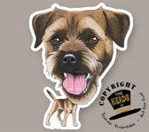 Magneet Hond Border Terrier