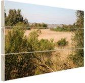 Natuur in Europa Hout 80x60 cm - Foto print op Hout (Wanddecoratie)
