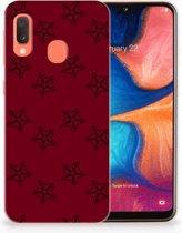 Samsung Galaxy A20e TPU Hoesje Sterren