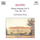 Haydn: Piano Sonatas Vol 5 / Jeno Jando