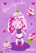 Associated Weavers Vloerkleed  Girls Miss Cupcake - 80x120cm