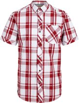 Regatta-Deakin III-Outdoorshirt-Mannen-MAAT XL-Wit