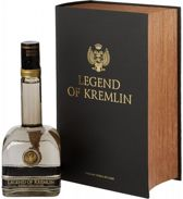 Legend of Kremlin Vodka Black Book 70cl