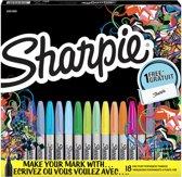 SHARPIE F. ASS. BOX18 + GIFT PENCASE19PE