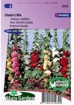Sluis Garden - Stokroos Double Chater's Mix (Alcea rosea)