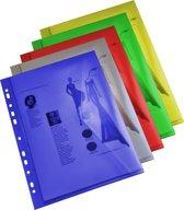 EXXO-HFP #35300 - A4 Ringband Documententas - Assorti kleuren - 10 stuks (1 pak @ 10 stuks)