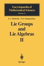 Lie Groups and Lie Algebras II