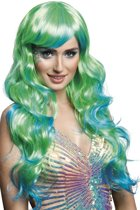 Boland Pruik Aqua Dames Groen