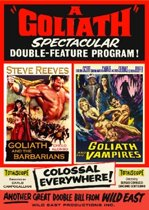Goliath and the Barbarians & Goliath and the Vampires (DVD)