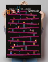 REINDERS Donkey Kong NES - Poster - 61x91,5cm