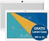 Tablet Sensation P10 10.1 inch Quad Core IPS 16GB MTK6580 & GPS functie + 3G dual sim + Gratis Leren Beschermhoes