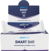 Body & Fit Smart Bars - Eiwitreep - 1 doos (12 eiwitrepen) - Delicious Vanilla Almond