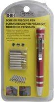 Benson Schroevendraaier Precisie Pen - 8-delig - Brilschroevendraaier / Kleine Elektronica