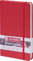 Talens Art Creation schetsboek rood 13x21 140grams