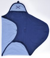Jollein - Wikkeldeken Jersey Flag - Blauw