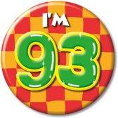 Button 65 jaar - Verkeersbord (55 mm)