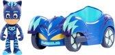 PJ Masks Pyjamahelden Catboy met Cat Car - Speelfiguur