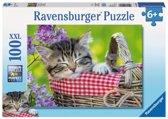 Ravensburger Slapend katje - Puzzel