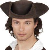 Piraten Hoed Charles (leatherlook)