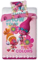 Trolls Dekbedovertrek Pinky