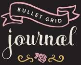 Bullet Grid Journal - Zwart, roze