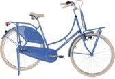 Ks Cycling Fiets 28 inch omafiets Tussaud met 3 versnellingen (Nexus) en voordrager blauw - 53 cm