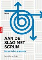 Boek cover Aan de slag met scrum van Hendrik Jan van Randen