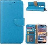 Nokia 4.2 - Bookcase Turquoise - portemonee hoesje