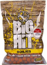 Crafty Catcher Big Hit Spicy Krill & Garlic | Boilies | 20mm | 1kg